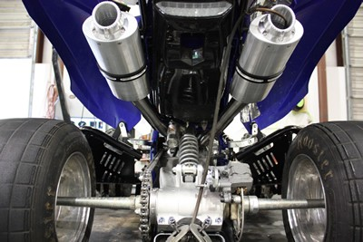 Raptor 700 2015 Newer Inframe Dual Exhaust