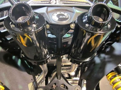 Can-am Maverick Dual Exhaust