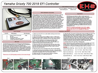 Grizzly 700 EFI Controller 2019 +Newer