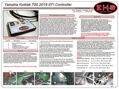Kodiak 700 EFI Controller 2019 And Newer