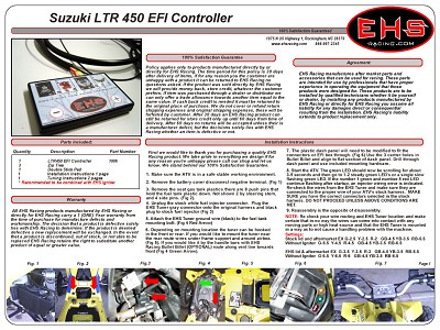 LTR 450 EFI Controller