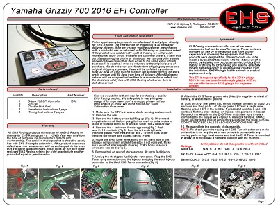 Grizzly 700 EFI Controller 2016-2018